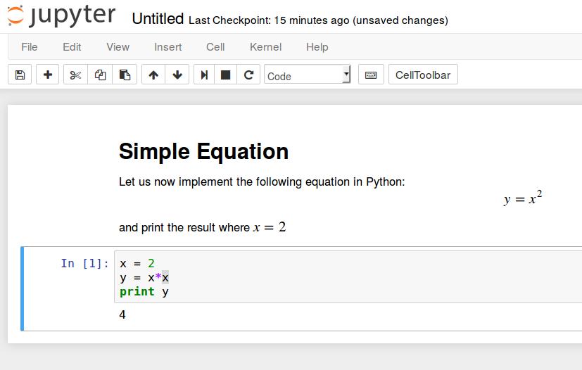 Решение примера уравнения