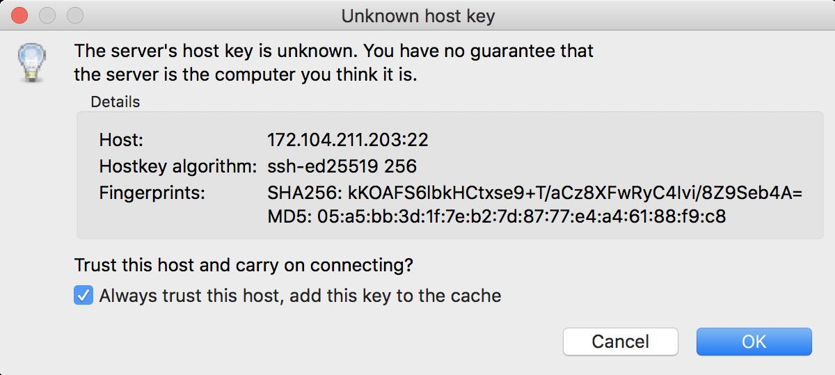 Unknown Key