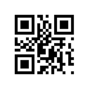 Generated QR code