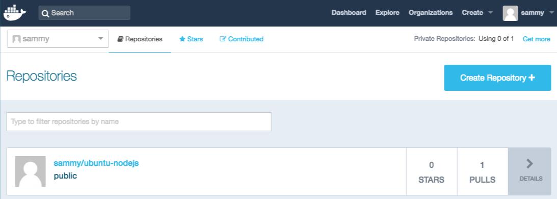 Появление нового образа Docker в списке на Docker Hub