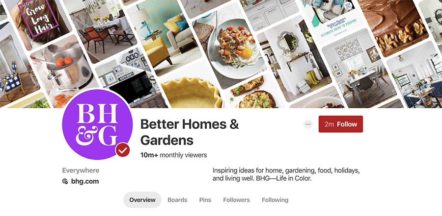 Better Homes on Gardens on Pinterest.