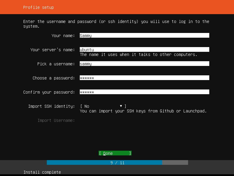 Ubuntu Profile Complete