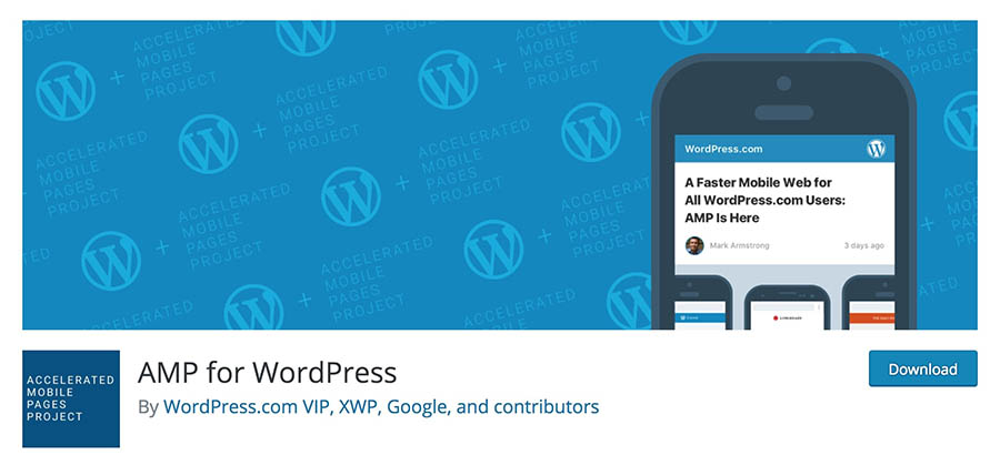 The AMP for WordPress plugin.