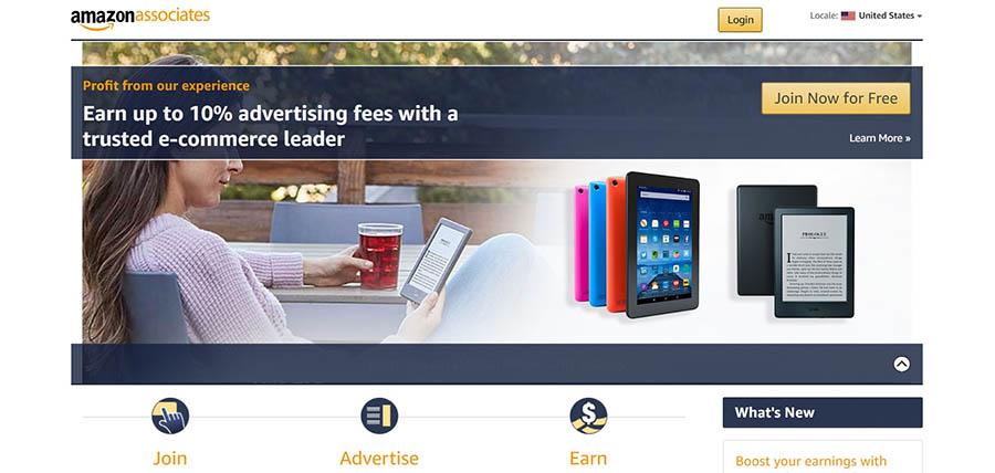 Amazon's affiliate marketing program.