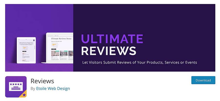 The Ultimate Reviews plugin.