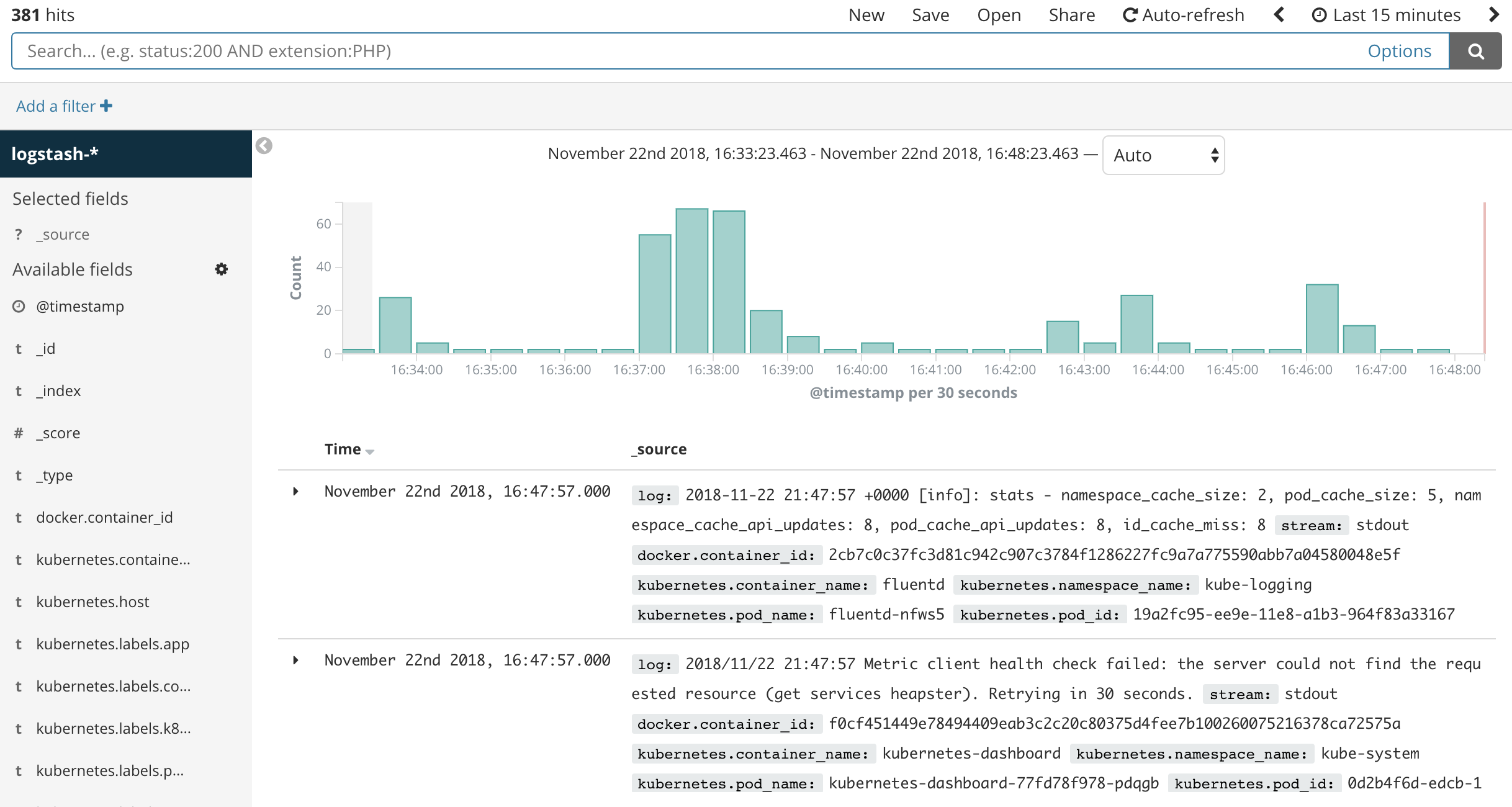 How to Set Up an Elasticsearch, Fluentd and Kibana (EFK) Logging
