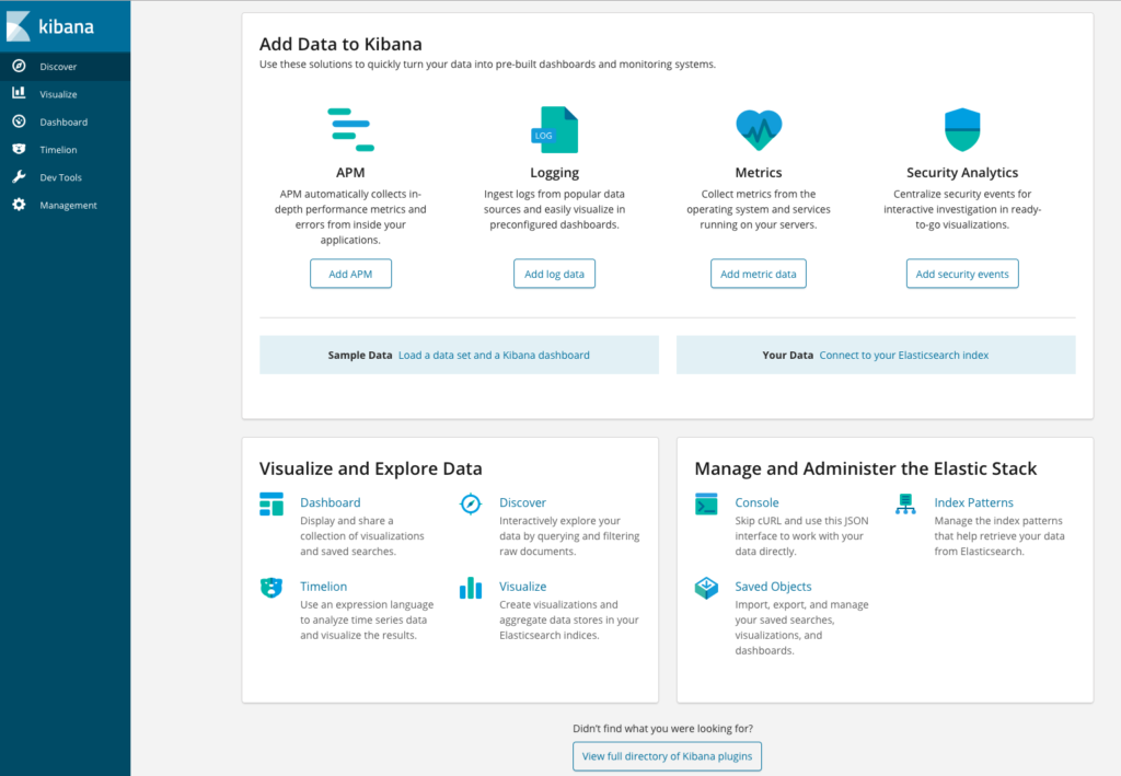 How to Set Up an Elasticsearch, Fluentd and Kibana (EFK