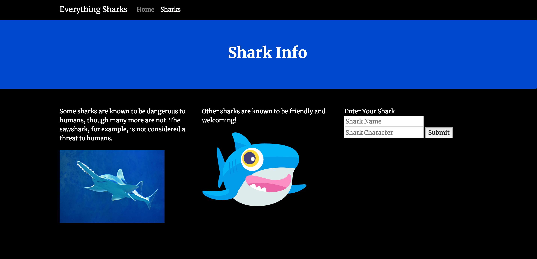 Форма информации об акуле