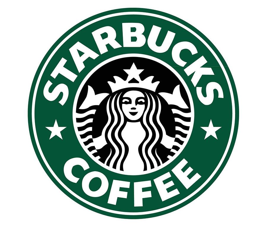 The Starbucks logo.
