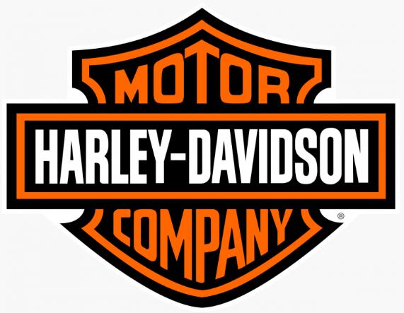 The Harley-Davidson logo.