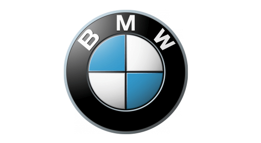 The BMW logo.
