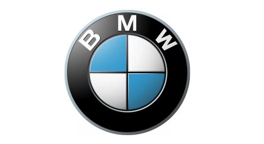 The BMW logo.