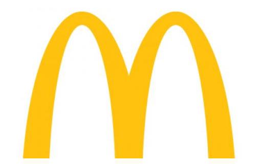 The McDonald's logo.