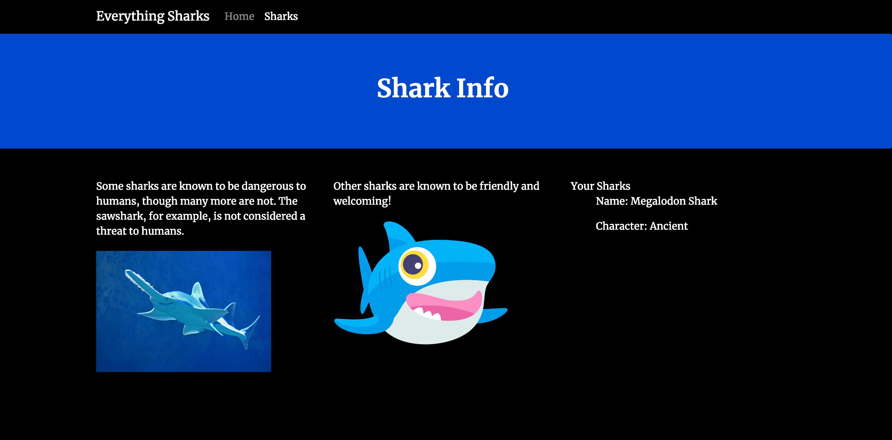 Вывод акулы