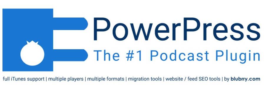 The WordPress plugin directory logo for PowerPress.