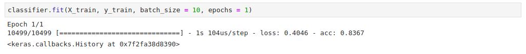 Fitting the dataset
