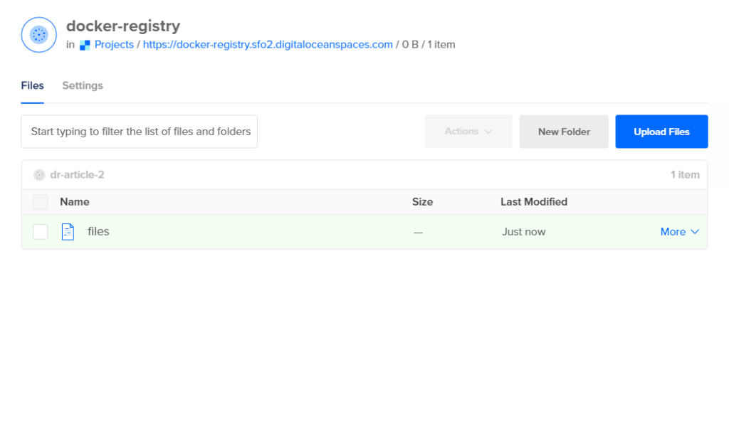 How To Set Up a Private Docker Registry on Top of DigitalOcean