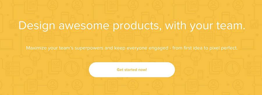 The Prott wireframing prototyping platform.