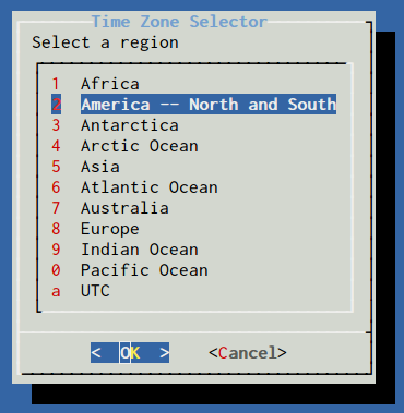 FreeBSD region of the world