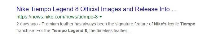 An example of an optimized meta description.