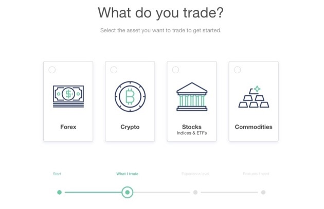 BrokerNotes' interactive question with options.