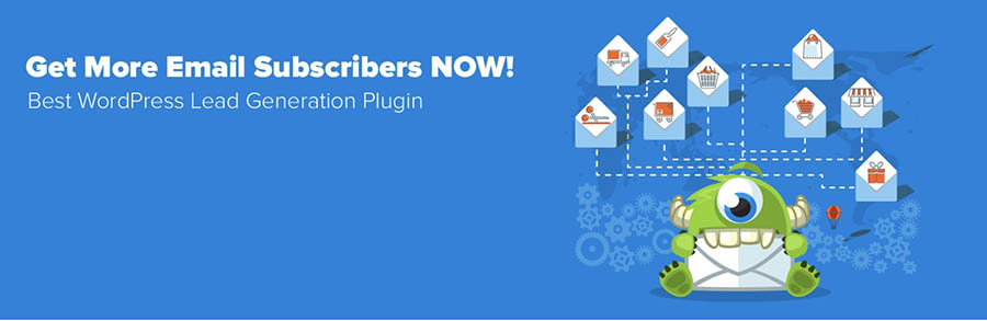The OptinMonster lead generation plugin.