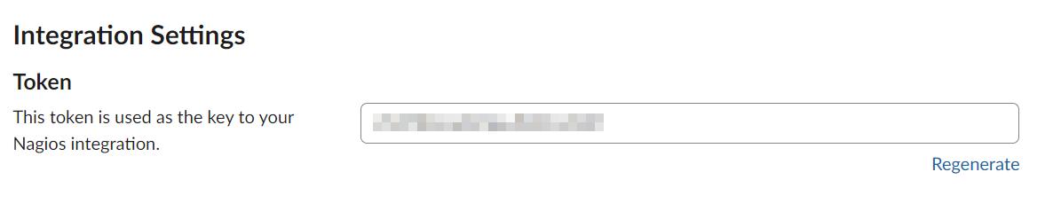 Slack - Integration Token