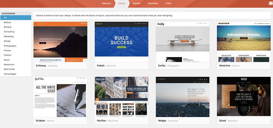 Designs for WordPress