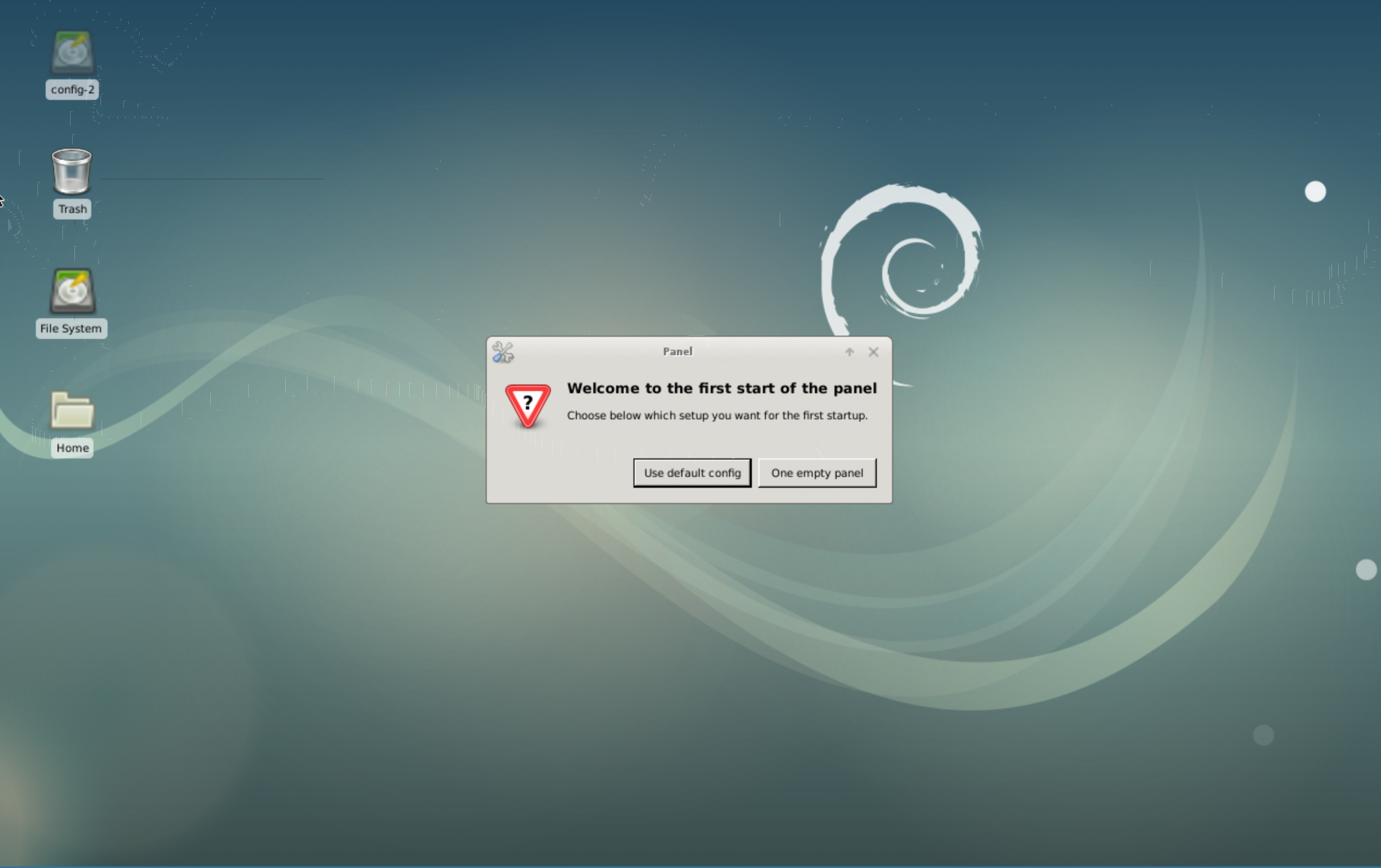Initial Xfce Configuration