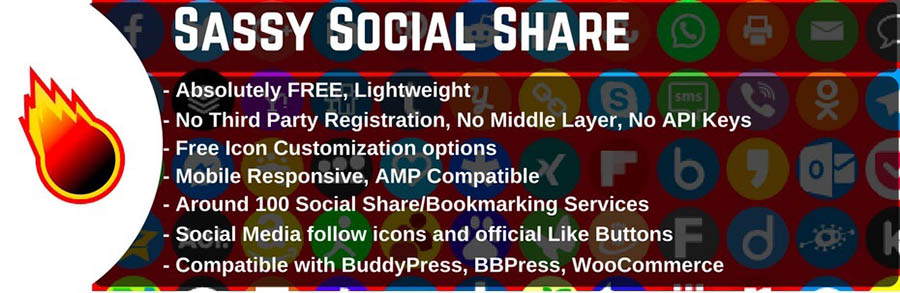 The Sassy Social Share plugin.
