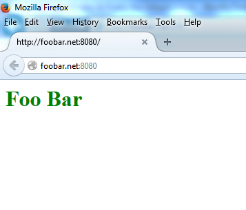 foobar.net index page
