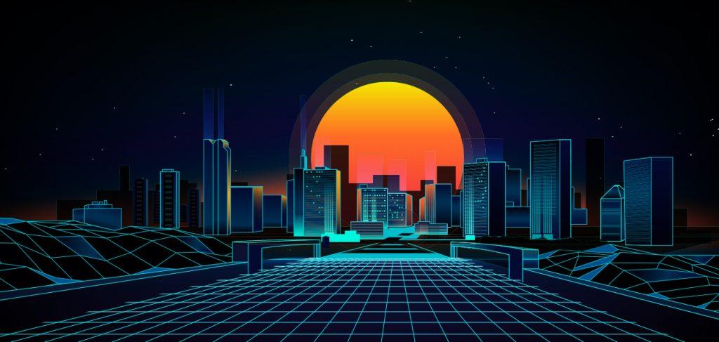 Tron-like city