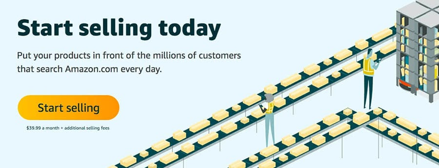 Amazon's Seller Central website.