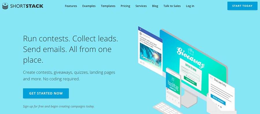 The ShortStack website.