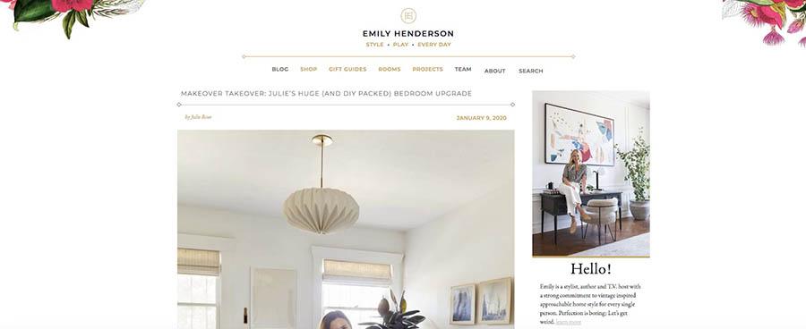 Emily Henderson's blog.