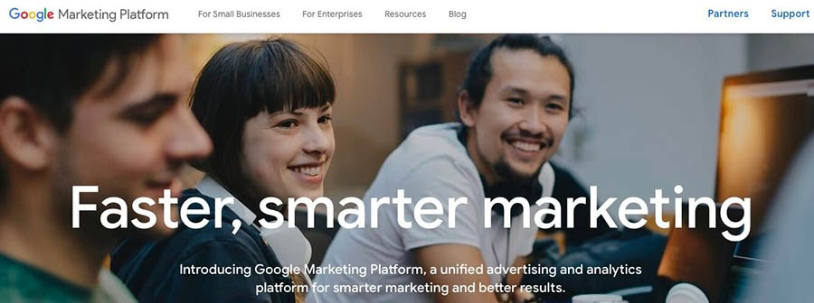 Google Marketing Tools.