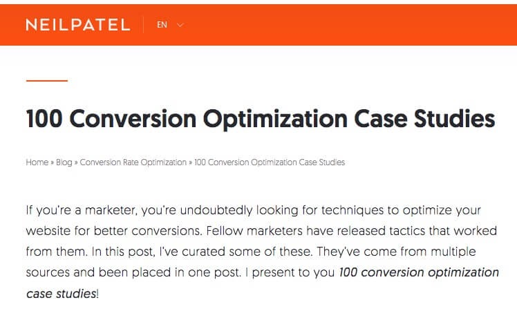 Optimization Case Studies.