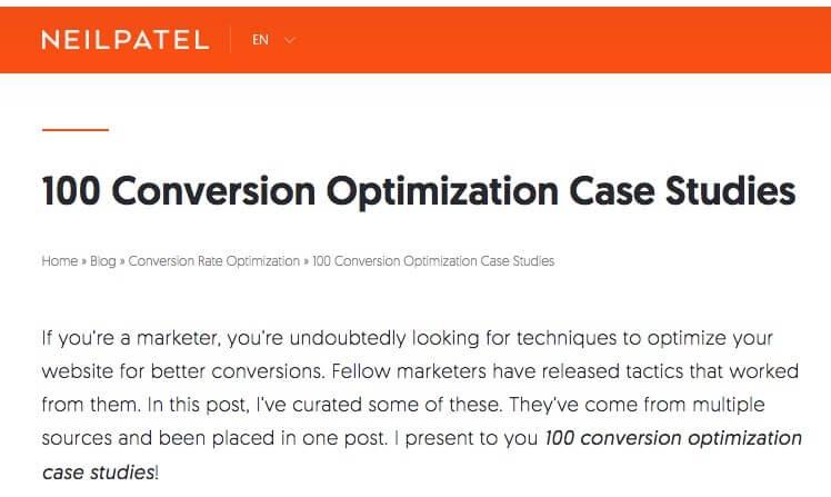 Optimization Case Studies.