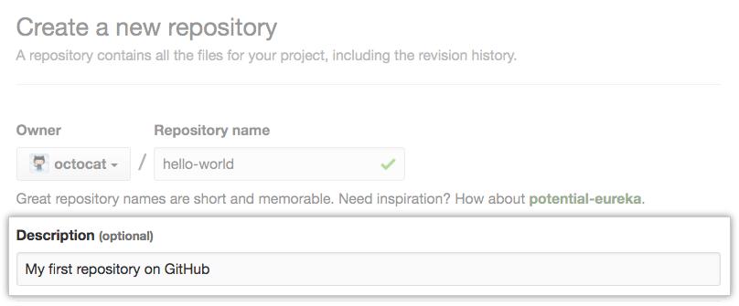Github-repository-description