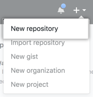 Github-novo-repositório