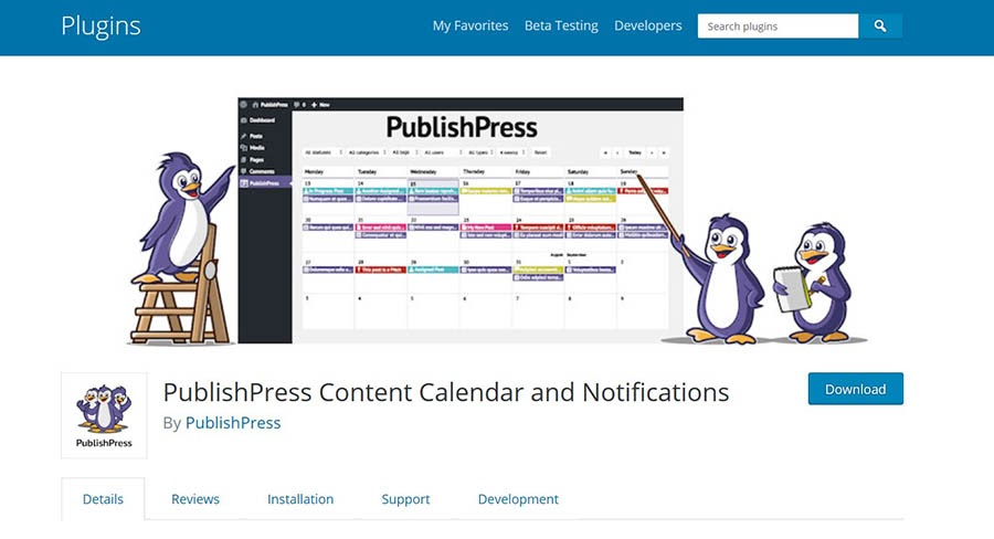 """The PublishPress Content Calendar and Notifications plugin."""
