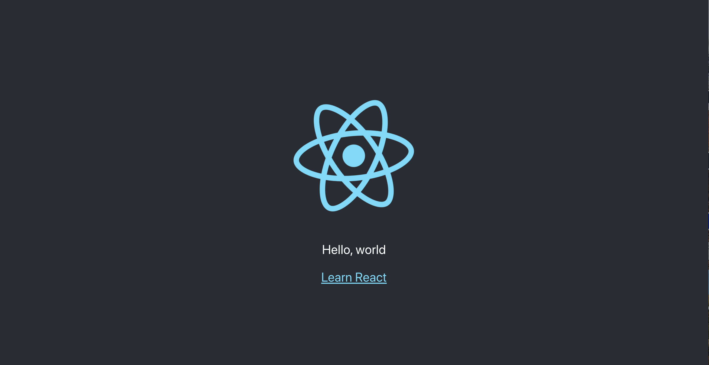 React-Vorlagenprojekt