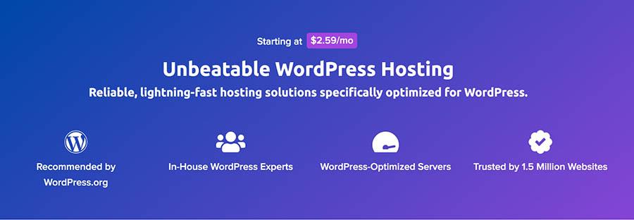 DreamHost WordPress hosting plans.