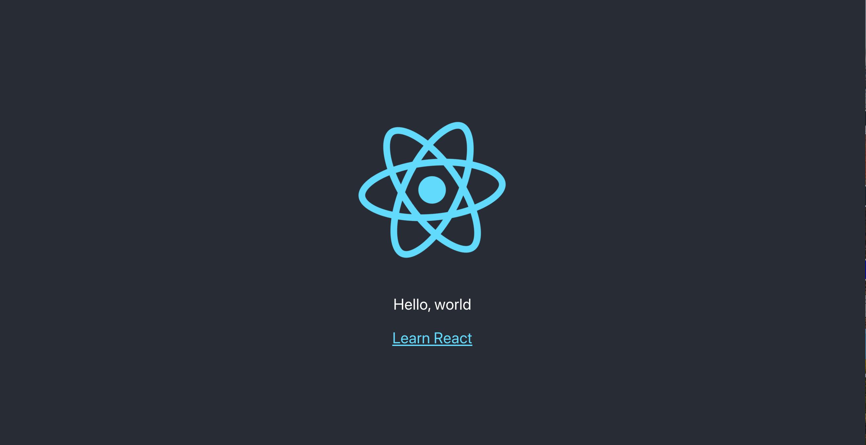 Шаблон проекта React