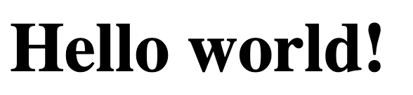 Hello World Okteto
