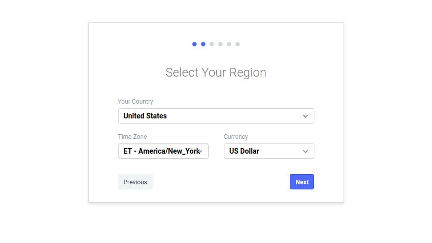 Wählen Sie Ihre Region aus