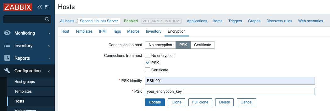 Configurando a criptografia