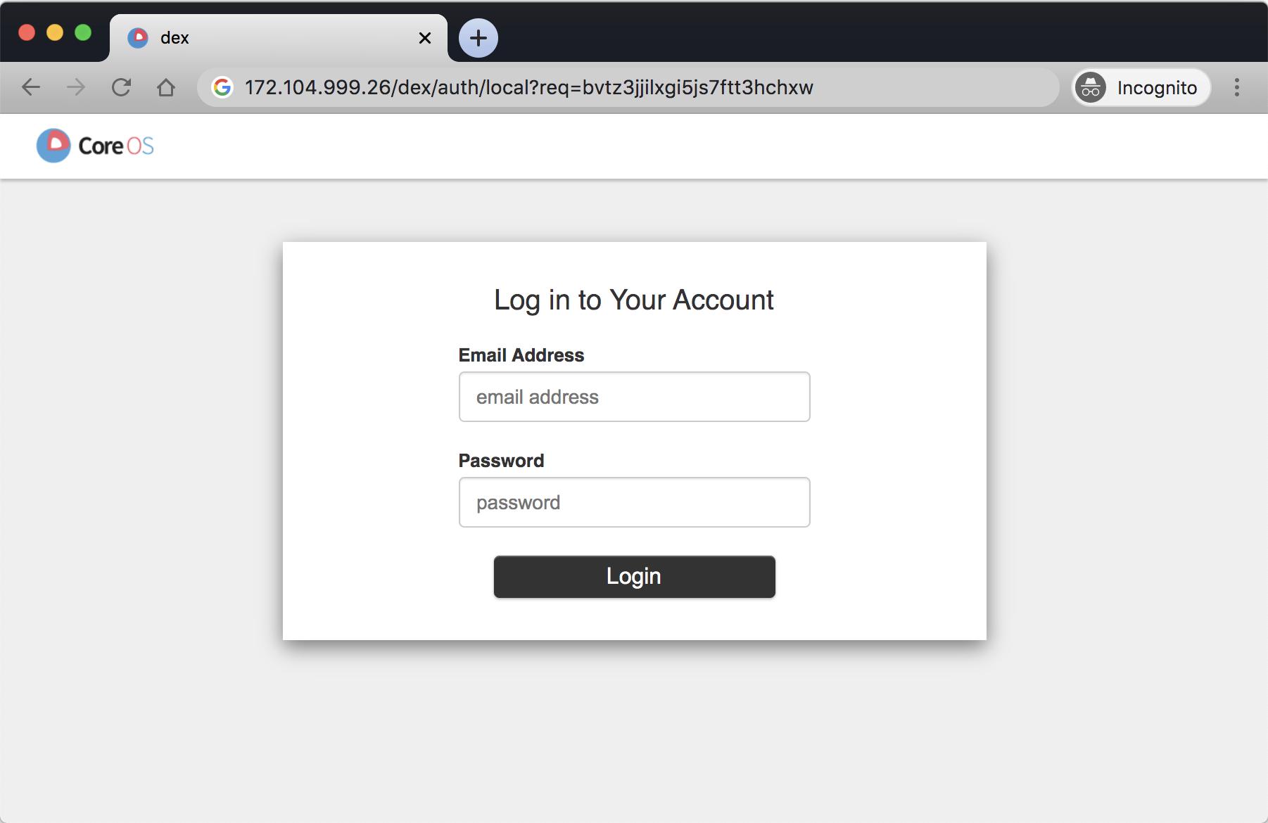Dex — Identity provider