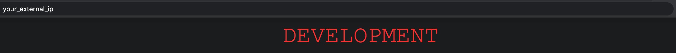 sammy-app in development
