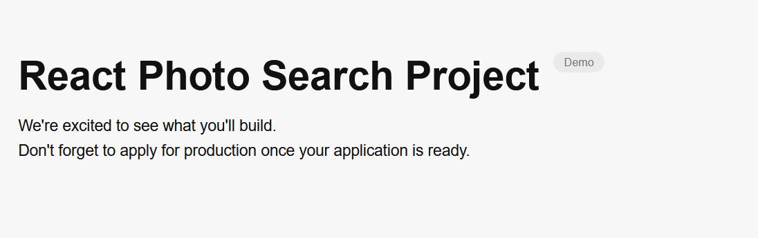 Demottag Next To Unsplash Application Name